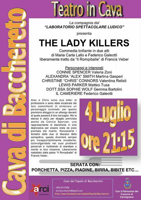 THE LADY KILLERS | Associazione ARCI Prato