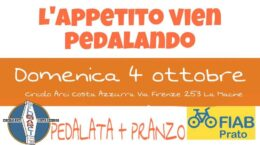 pedalata costa azzurra 4 ottobre
