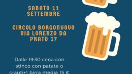 Festa birra 11 Settembre