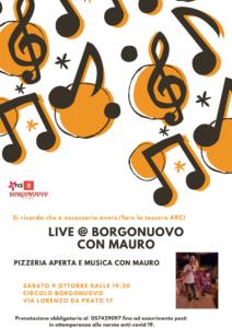 Karaoke @ Borgonuovo Mauro 9 Ottobre
