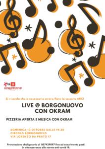 Karaoke @ Borgonuovo Okram 10 Ottobre