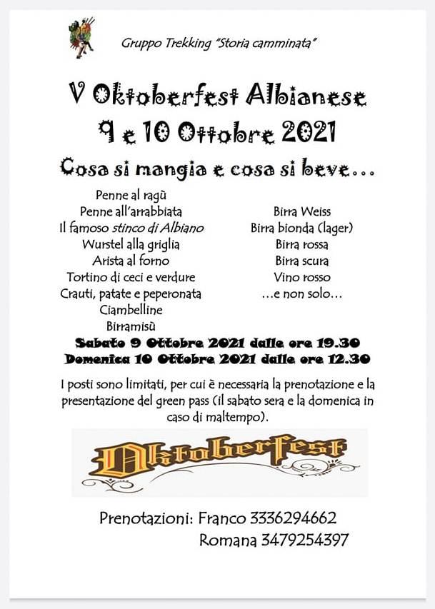 OKTOBERFEST ALBIANESE
